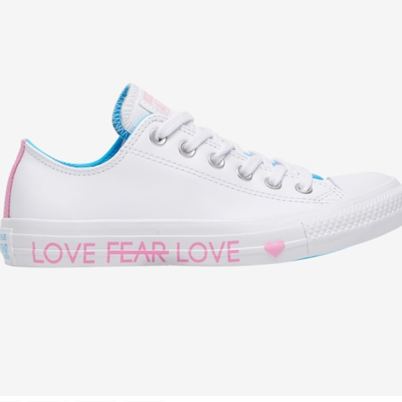 Ctas Love The Progress Leather Sneakers